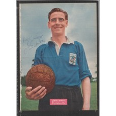 Signed picture of John Watts the Birmingham City footballer.
