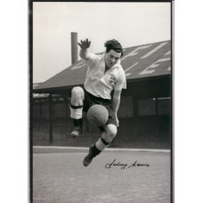 Signed photo of Johnny Morris the Derby County Footballer