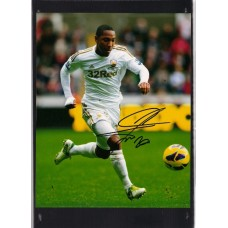 World Cup: Photo signed by Jonathan De Guzman the Swansea footballer