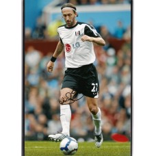 Signed photo of Jonathan Greening the Fulham footballer.