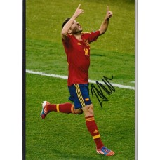 Signed photo of Jordi Alba the Spain footballer. SORRY SOLD!