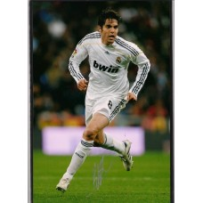 World Cup: Signed photo of Kaka the Real Madrid footballer.