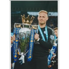 Signed photo of Kasper Schmeichel the Leicester City Footballer