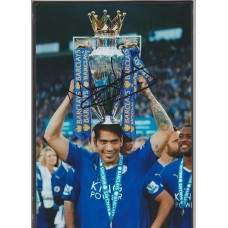 SALE: Signed photo of Leonardo Ulloa the Leicester City Footballer.