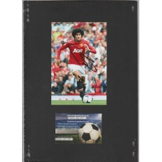 Signed photo of Marouane Fellaini the Manchester United footballer.