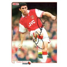 Signed picture of Martin Keown the Arsenal footballer.