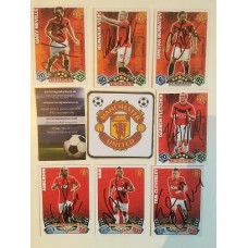 MATCH ATTAX card signed by NANI the MANCHESTER UNITED footballer.