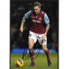 SALE.  Signed photo of Matt Taylor the West Ham United footballer.