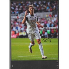 Signed photo of Michu the Swansea footballer.