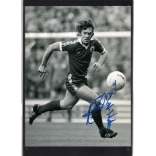 Signed photo of Mike Pejic the Everton Footballer.