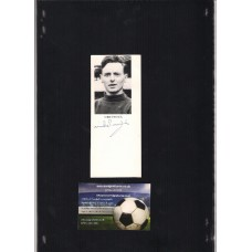 Signed picture of Mike Pinner the Manchester United footballer. SORRY SOLD!