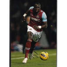 SALE: Signed photo of Mohamed Diame the West Ham United footballer.