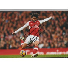 Signed photo of Mohamed Elneny the Arsenal footballer.