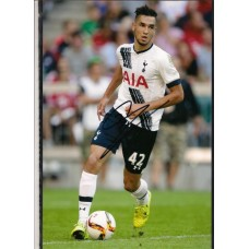 Signed photo of Nabil Bentaleb the Tottenham Hotspur footballer.