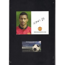 Nani Signed Manchester United official card