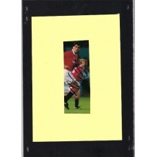 SALE: Signed picture of Manchester United footballer Neil Webb.