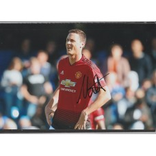 Signed photo of Nemanja Matic the Manchester United footballer.