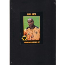 Signed official Wolverhampton Wanderers Photo of Paul Ince