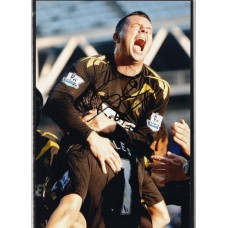 Signed photo of Paul Robinson the Bolton Wanderers footballer.