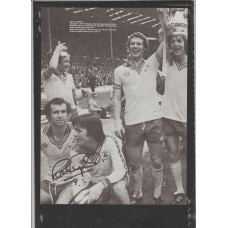 Signed picture of Peter Osgood the Southampton footballer.