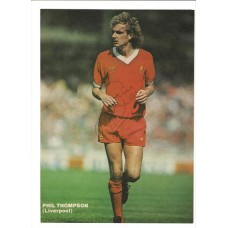 Signed A4 colour picture of Phil Thompson