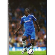 World Cup: Signed photo of Ramires the Chelsea footballer.