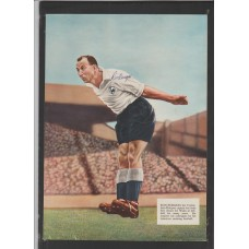Signed picture of Ron Burgess the Tottenham Hotspur footballer.