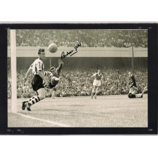 World Cup: Signed picture of Sheffield Wednesday footballer Ron Springett.