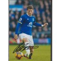 Signed photo of Ross Barkley the Everton Footballer.