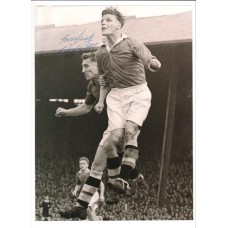 Signed picture of Roy Bentley the Chelsea footballer.