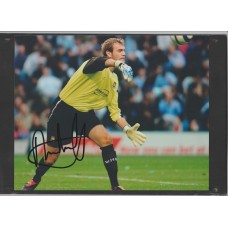 Signed photo of Roy Carroll the West Ham United footballer
