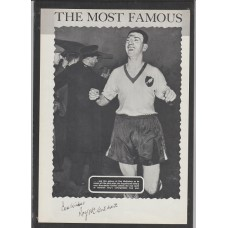 Signed picture of Roy McCrohan the Norwich City footballer.