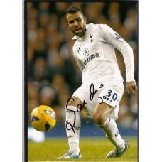SALE; Signed photo of Sandro Raniere the Tottenham Hotspur footballer.