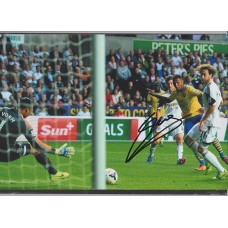 Signed photo of Serge Gnabry the Arsenal footballer.