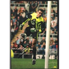 Signed picture of Shay Given the Newcastle United footballer.  SORRY SOLD!