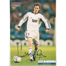 Steve McManaman A4 real Madrid picture