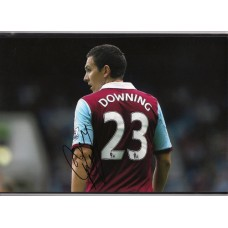 Signed photo of Stewart Downing the West Ham United footballer.