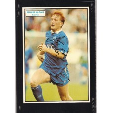 Signed picture of Stuart McCall the Everton footballer