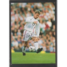 SALE: Signed picture of Teddy Sheringham the Nottingham Forest footballer.