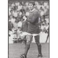 Signed picture of Tony Dunne the Manchester United footballer