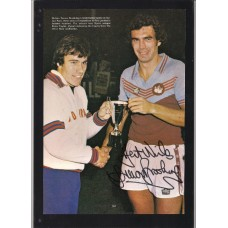 SALE: Signed picture of Trevor Brooking
