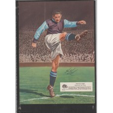 Signed picture of Trevor Ford the Aston Villa footballer.