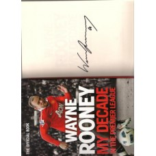 Wayne Rooney Manchester United footballer SIGNED Autobiography
