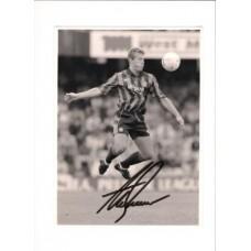 Signed photo of Alan Shearer the Blackburn Rovers Footballer